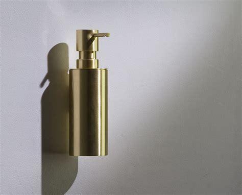 Brushed Brass Soap Dispenser Pump   Moca Brass Bathroom