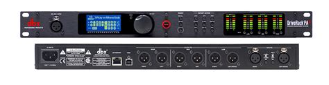 drive rack dbx driverack pa2 front of house
