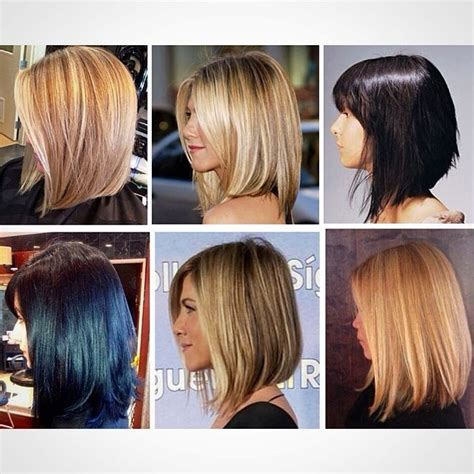 before and after haircuts back view of long bob haircut hollywood official
