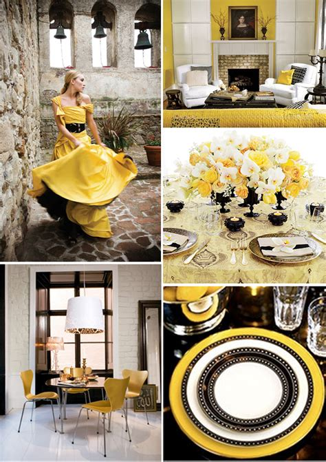 yellow decor yellow and black kitchen decor interiordecodir com