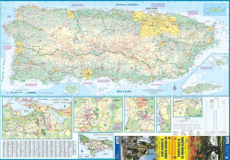 printable puerto rico road map maps update 20401320 puerto rico travel map maps