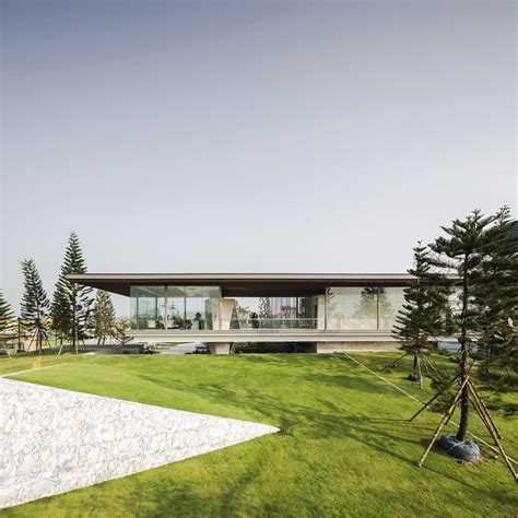 design brief of new clubhouse and cement deck the grand pinklao clubhouse office at archdaily