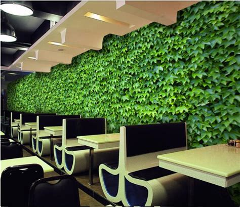 good Supplies For Painting A Room #4: Green-Leaf-Leaves-Large-Murals-Photo-Mural-3D-Custom-Any-Size-Wallpapers-Living-Room-Office-Restaurant.jpg