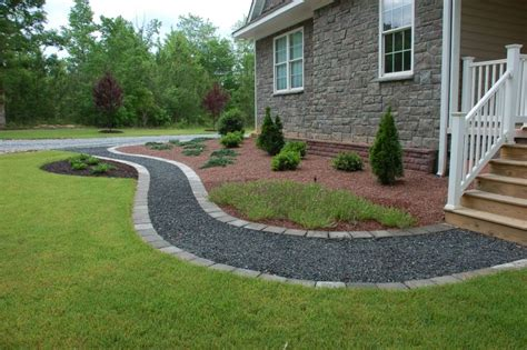 pictures of gravel and paver sidewalks crushed granite