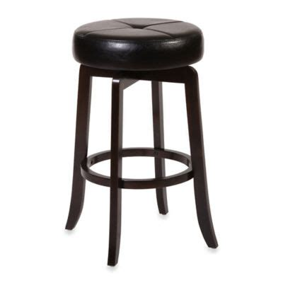 Padded Espresso 24 Inch Folding Stool by Buy Padded Espresso 24 Inch Folding Stool From Bed Bath