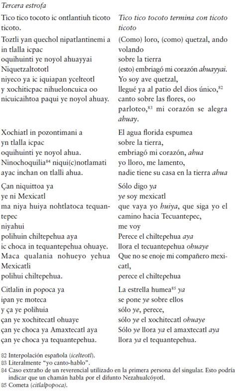 poemas en nahuatl y en espa ol poemas en nahuatl newhairstylesformen2014 com