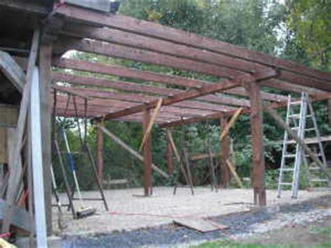 carport dachaufbau carport dach sparren und unterkonstruktion