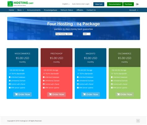 Advanced Hosting Cart Whmcs Order Form Template One Page Review Checkout Whmcs Marketplace Whmcs Order Form Templates Free