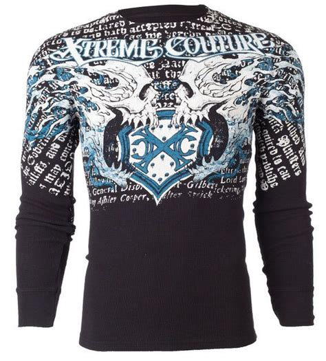 Tshirt Kaos C America B C details about xtreme couture affliction thermal t
