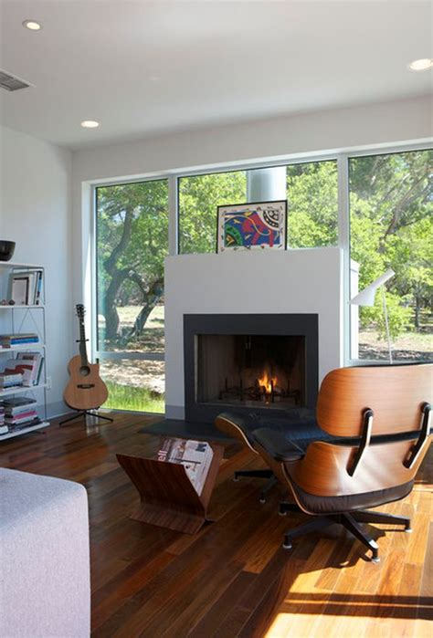 Modern Fireplace Walls by 21 Modern Fireplaces Characteristics And Interior D 233 Cor Ideas
