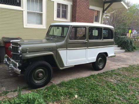 jeep station wagon for sale 5417814596 1963 willys jeep station wagon