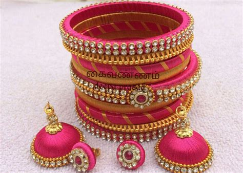 Handmade Bangles Ideas - trendalert 20 handmade bangle designs for your