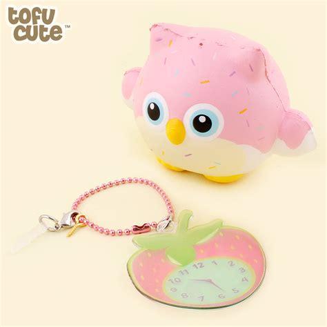 Squishy Owl Pink Uk Besar buy puni maru scented squishy mini timekeeper owl at tofu