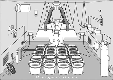 Grow Room Watering System by The Importance Of Ventilation In Hydroponics