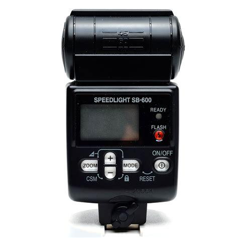 nikon sb 600 hotshoe speedlight flash boxed 18208048021 ebay