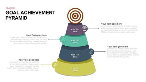 goal pyramid template goal achievement pyramid keynote and powerpoint template