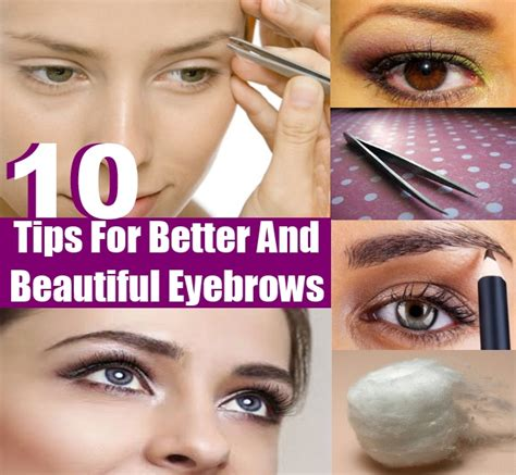 Beautiful Eyebrows Tips by How To Make Beautiful Eyebrows With Makeup Makeup Vidalondon