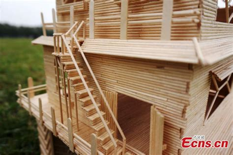 casa con palitos de madera manualidades para ni os estudiantes crean casas con palitos de madera 9