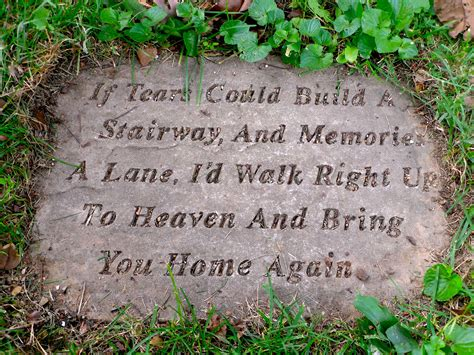 if tears could build a stairway bench gallery town of maine cemetery