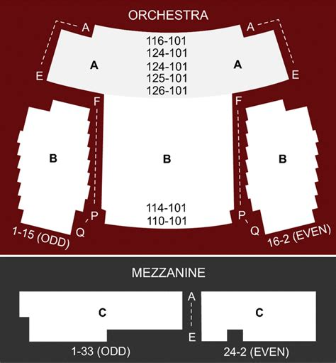 new world stages seating chart stage 1 new world stages new york ny seating chart and