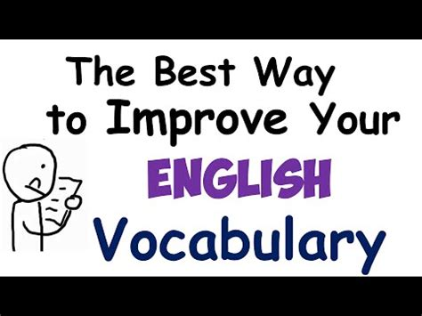 the best way to improve your vocabulary