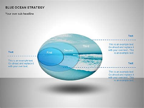 Blue Ocean Strategy For Powerpoint Presentations Download Now 00100 Poweredtemplate Com Blue Strategy Powerpoint