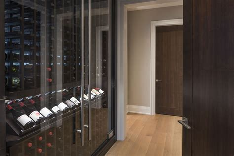 wine cabinets for home custom refrigerated wine cabinet north shore modern home