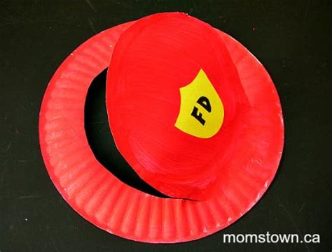 firefighter hat template preschool preschool fireman hat images frompo 1