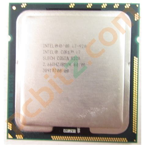 I7 920 Sockel by Intel I7 920 Slbch 2 66ghz 8m Socket 1366 Cpu Ebay