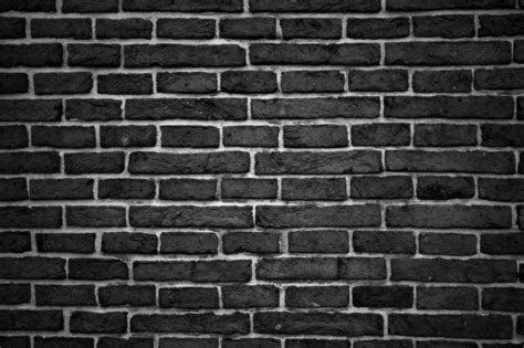 black brick wall free photo wall brick brick wall building free image