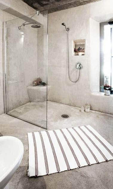 agréable Petite Salle De Bain Avec Douche A L Italienne #2: deco-salle-de-bain-avec-douche-italienne-en-beton-cire-beige.jpg