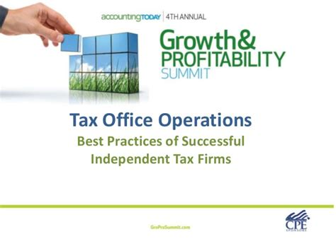 Office Operations by Tax Office Operations