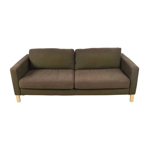 decoro leather sofa 57 furniture brown curved arm