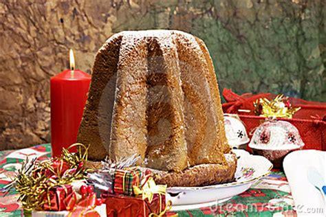pandoro italian xmas cake stock photos image 22275753