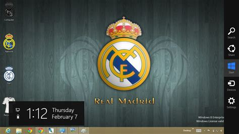 Free Download Themes For Windows 7 Real Madrid | real madrid theme for windows 8 ouo themes