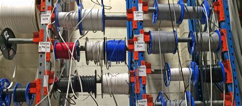 Cable Spool Rack by And Hanson Warehouse Study Macrack Pallet