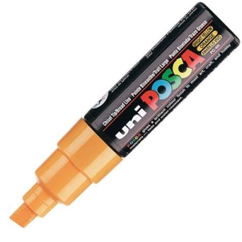Uni Posca Pc 8k Orange 1 uni 5654314 224 4 69 uni marqueur 224 pigment posca pc 8k orange