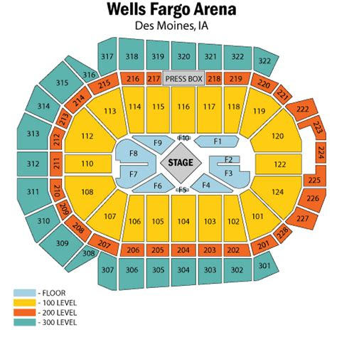 fargo arena seating diagram george strait and martina mcbride february 24 tickets