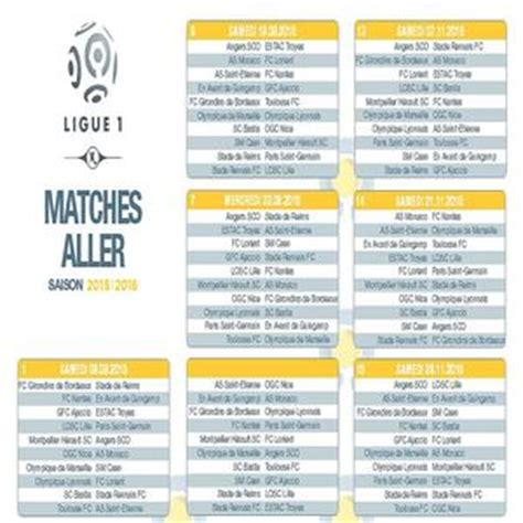 Calendrier Ligue 1 Pdf 2015 T 233 L 233 Charger Calendrier Officiel Ligue 1 2015 2016 Gratuit