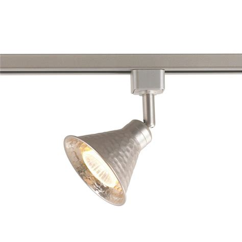 Home Depot Track Lights by Commercial Electric 1 Light Hammered Shade Linear Track
