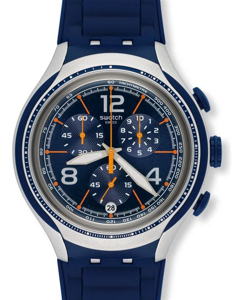 Swatch Irony Chrono 3 swatch irony xlite chrono quot blue quot yys4015 neuware