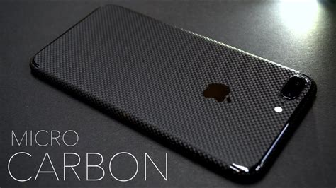iphone 7 plus micro carbon fibre skin by easyskinz