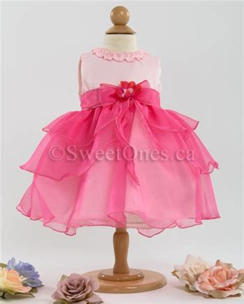 canada toronto ontario babyinfant flower girl dresses fuchsia infant baby dress baby girl dresses and shoes