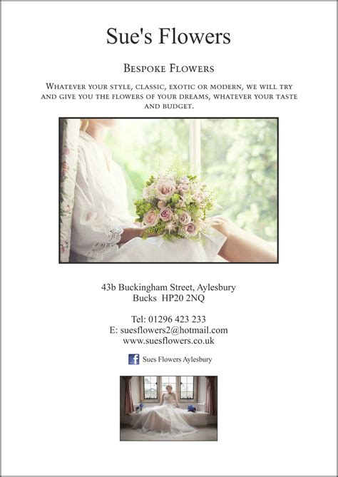 Wedding Brochure Uk by Florist Wedding Brochures
