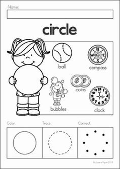 circle coloring pages preschool circle the picture that is different 4 worksheets