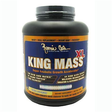 Rc Ronnie Coleman King Mass Xl 2 Lbs Eceran Penambah Berat Badan 1 ronnie coleman signature series king mass xl vanilla 6 lbs