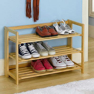 Amazing Shoe Rack Shoes Rak Rak Sepatu 1 3 tier stackable wooden shoe rack in nautral pinteres