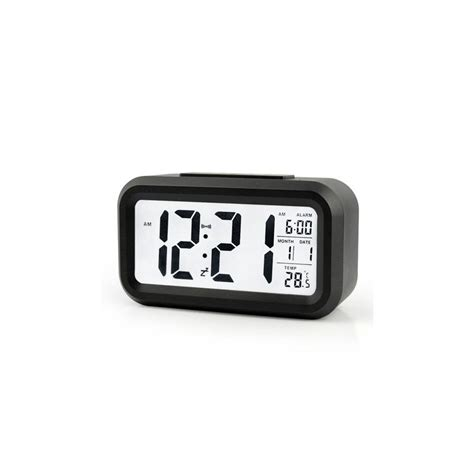 bedroom digital alarm clock modern bedroom abs battery powered digital electronic led