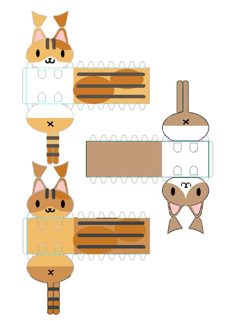 Cat Papercraft - papercraft cat pictures to pin on pinsdaddy