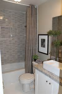 Small bathroom with bathtub and shower interior design ideas founded